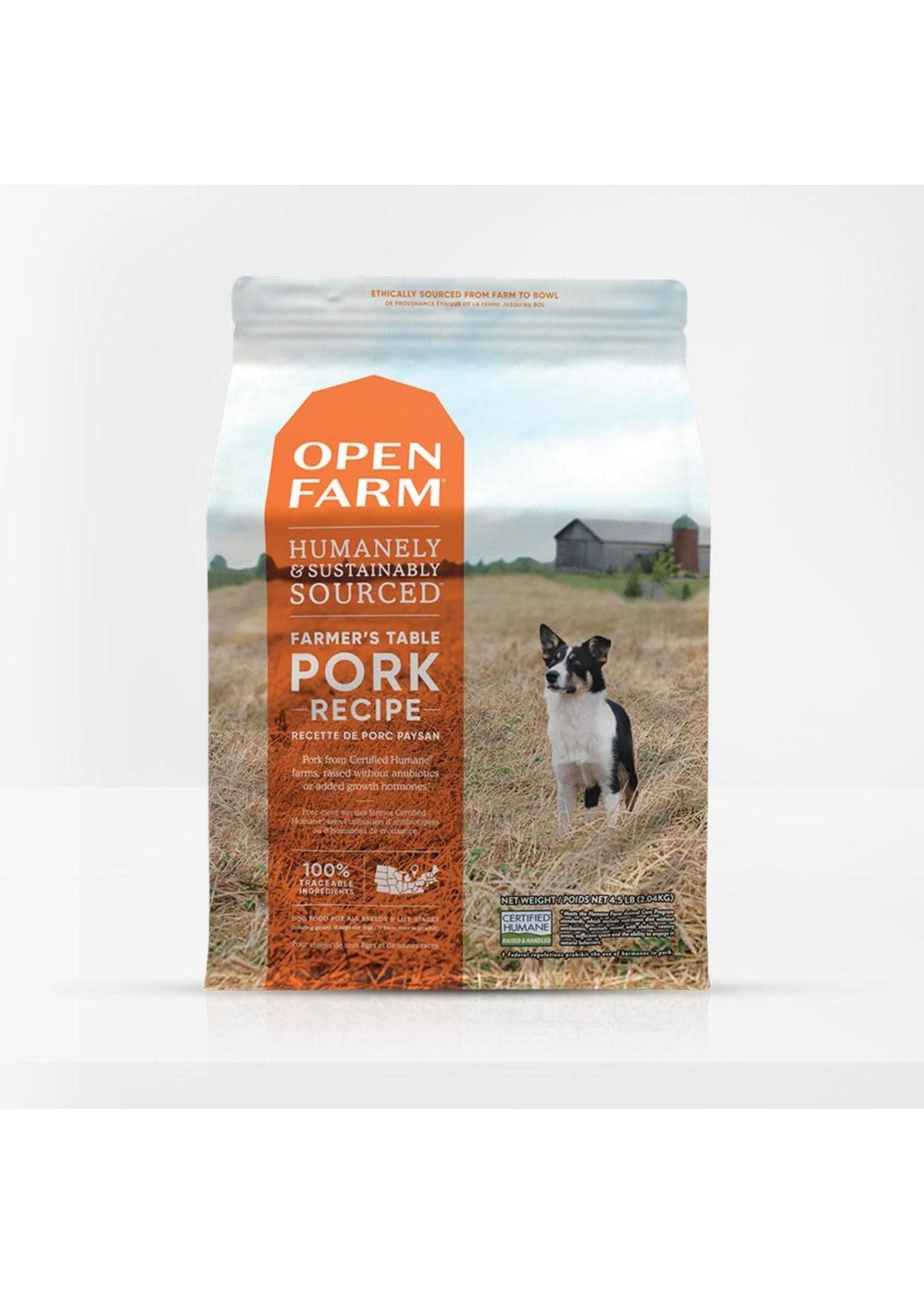 Open Farm Open Farm Farmer's Table Pork Dog