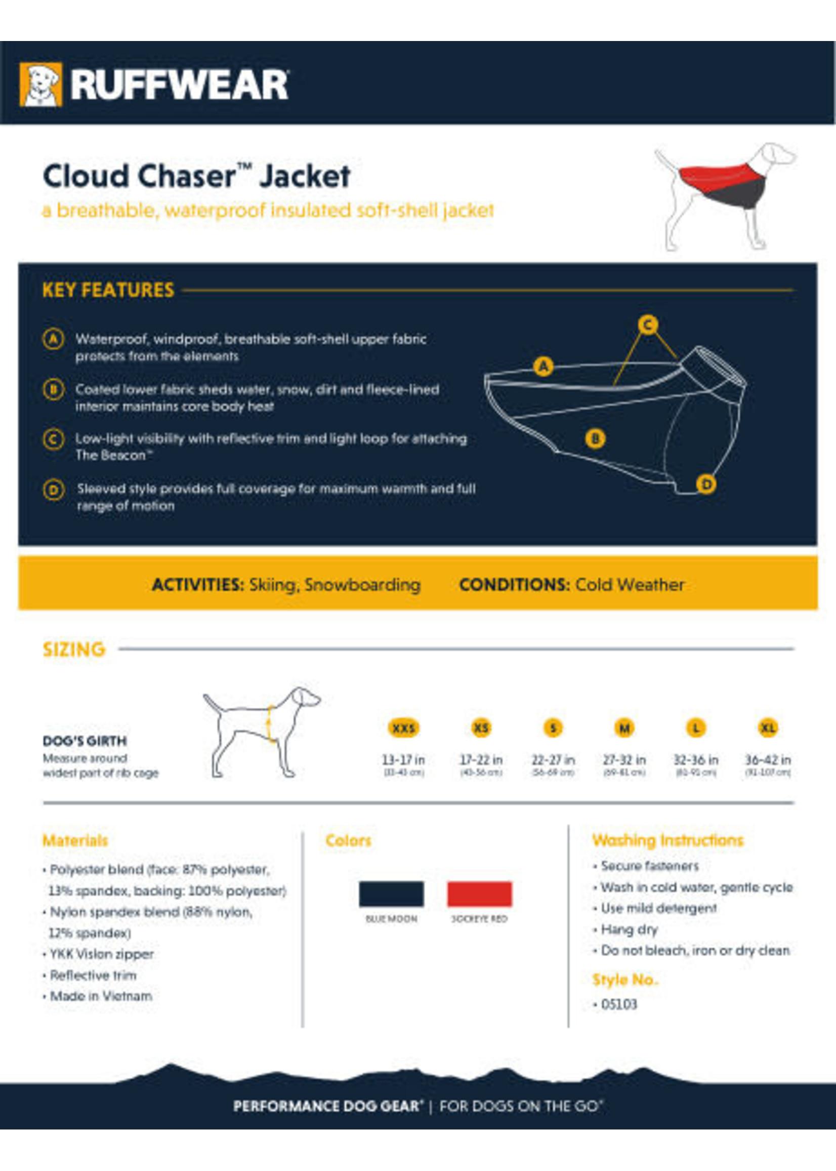 Ruffwear Ruffwear Cloud Chaser Coat