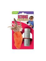 Kong Kong Cat Toy Carrot Feather