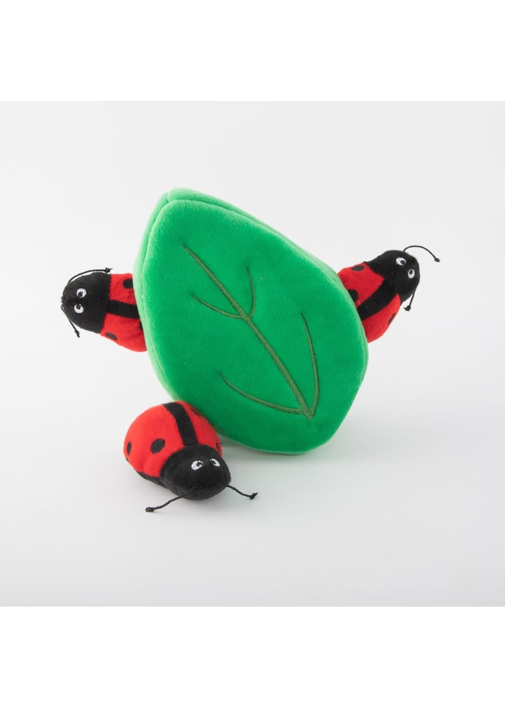 Zippy Burrow Ladybug Leaf