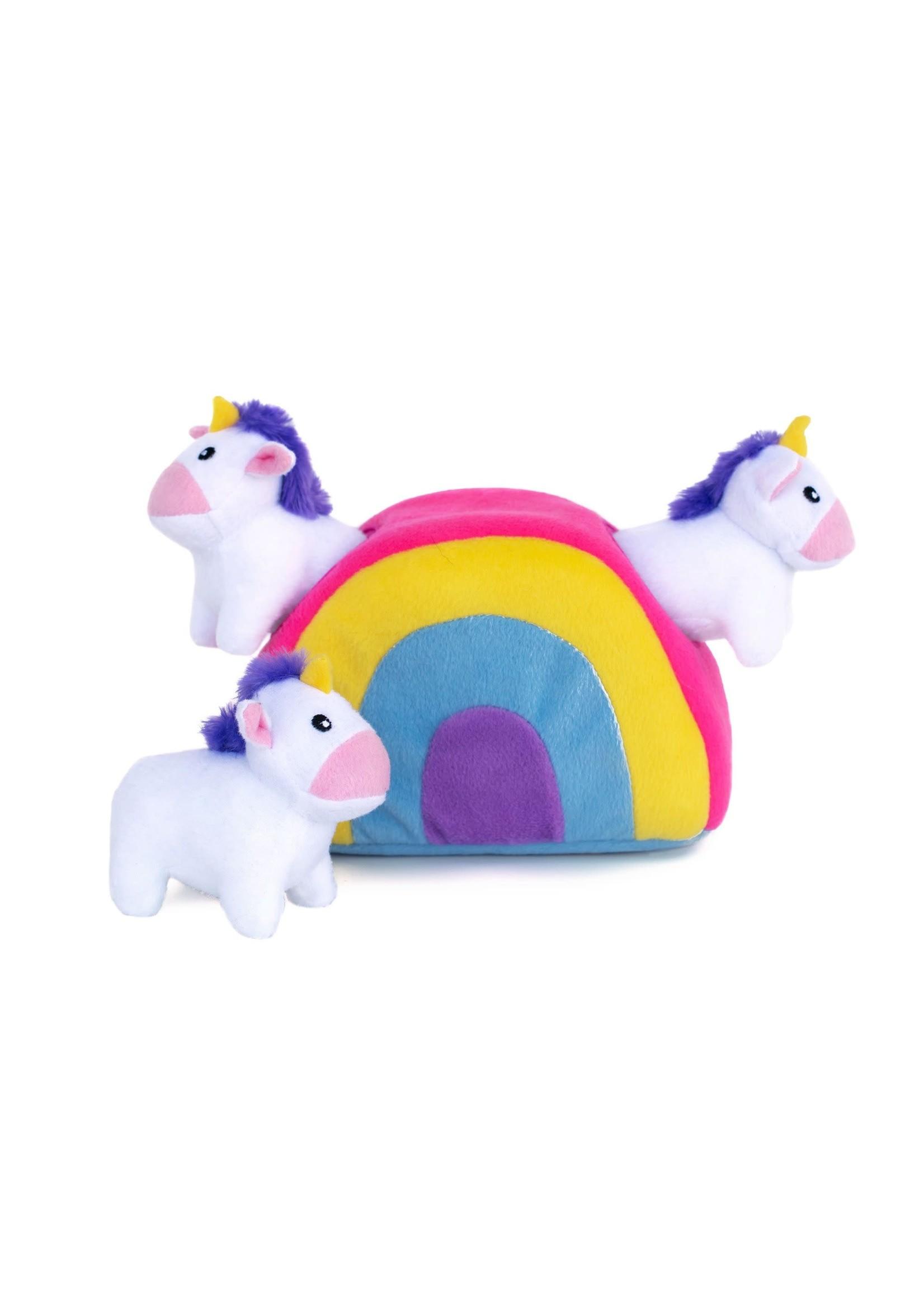 Zippy Burrow Unicorn Rainbow