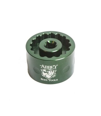 Abbey Tools Dual Sided Bottom Bracket Socket Cup Tool (for Dura Ace/Ultegra)