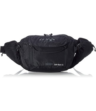 EVOC Sac d'hydratation Hip Pack, Volume: 3L, Vessie non incluse: 1.5L, Noir