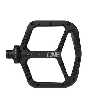 OneUp Components Aluminum Platform Pedals, Black