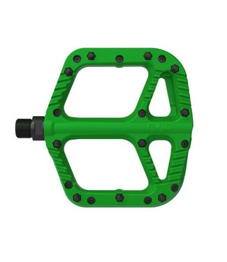 OneUp Components Composite Pedals - GREEN
