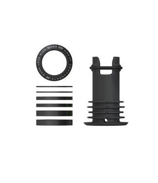 OneUp Components EDC TOP CAP - BLACK