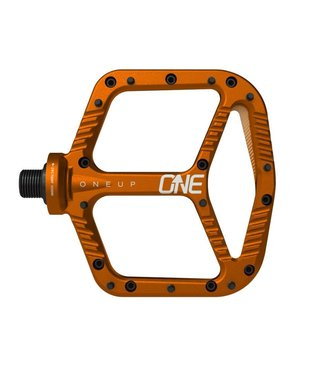 OneUp Components Aluminum Pedals - Orange