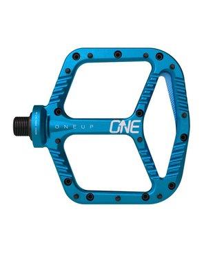 OneUp Components Aluminum Pedals - Blue