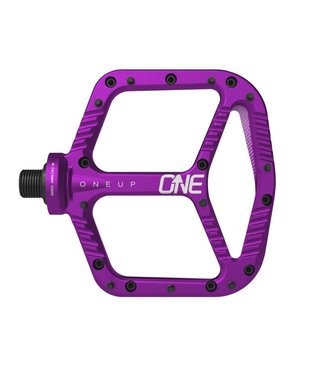 OneUp Components Aluminum Pedals - Purple