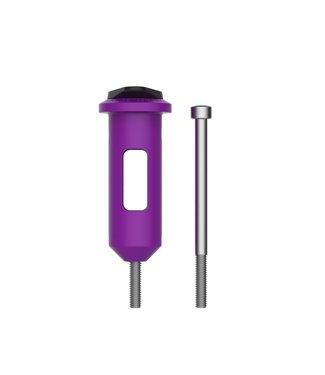 OneUp Components EDC Lite Kit Plastiques, Mauve