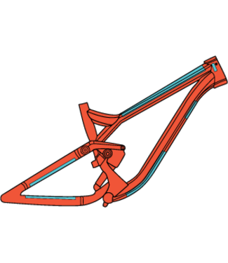 Ridewrap Essential Frame Protection Kit Matte Finish