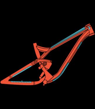 Ridewrap Essential Frame Protection Kit Gloss Finish