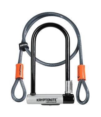 Kryptonite Kryptolok STD with 4' Flex Cable