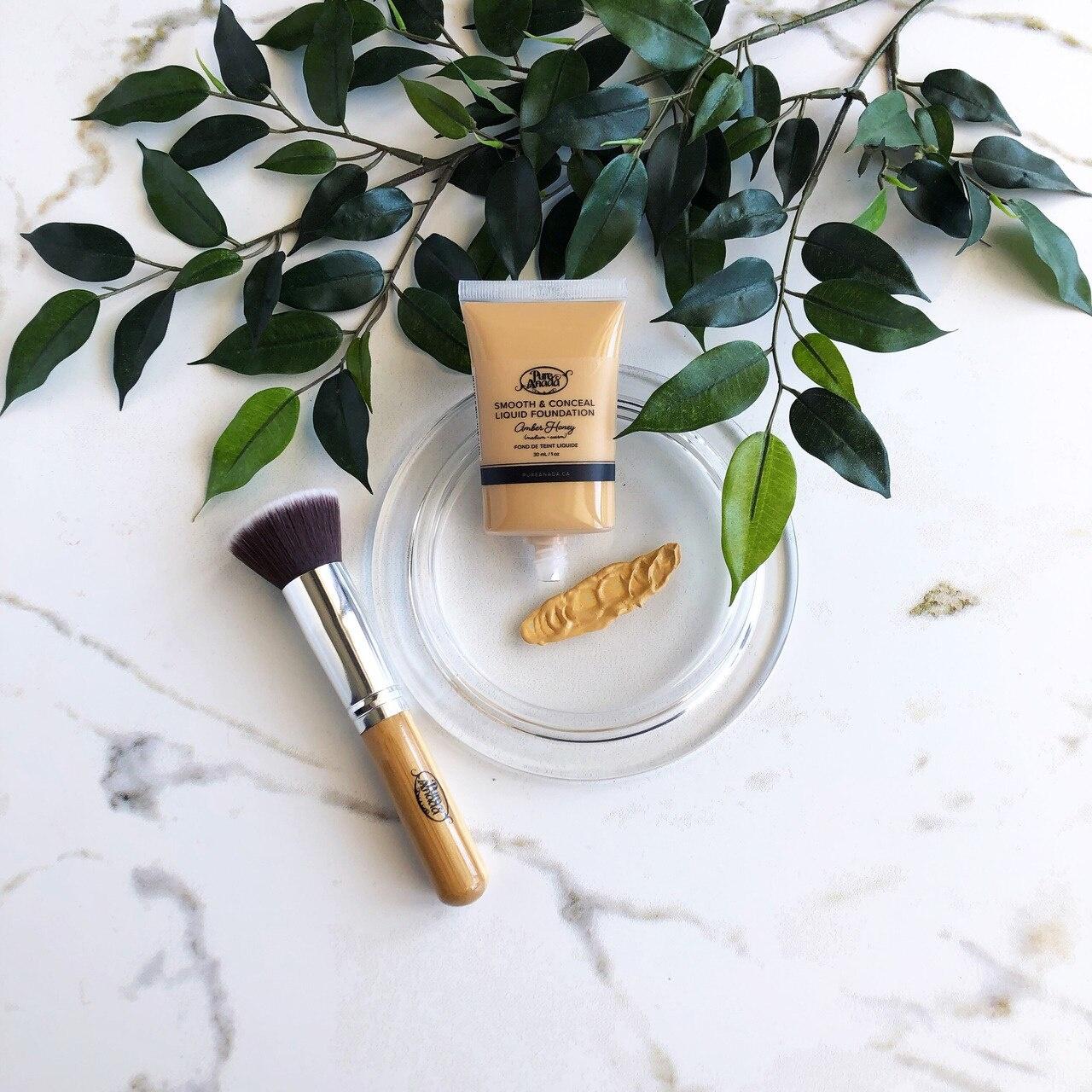 Liquid Foundation - Amber Honey: Medium (Warm)-2