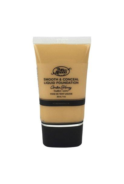 Liquid Foundation - Amber Honey: Medium (Warm)