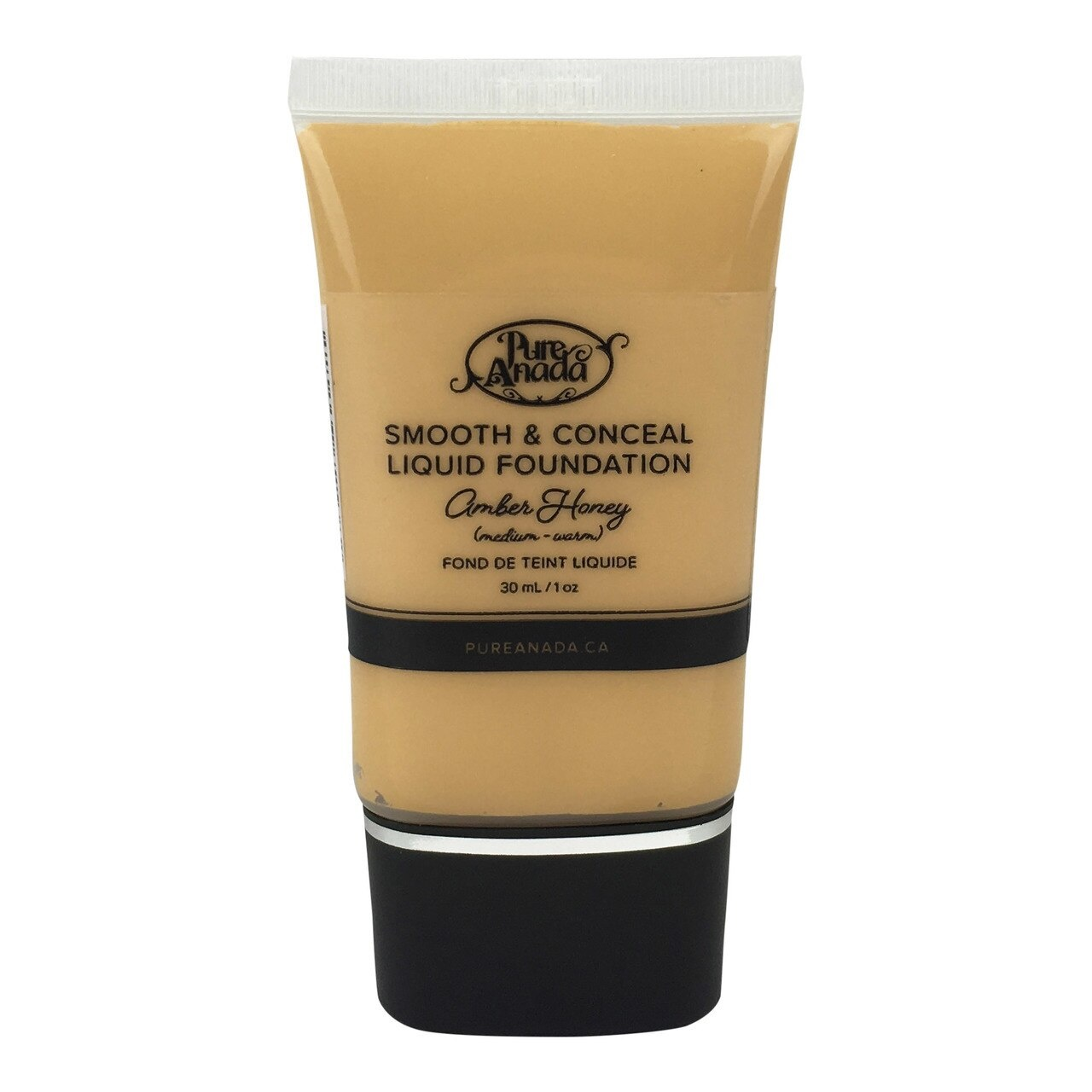 Liquid Foundation - Amber Honey: Medium (Warm)-1