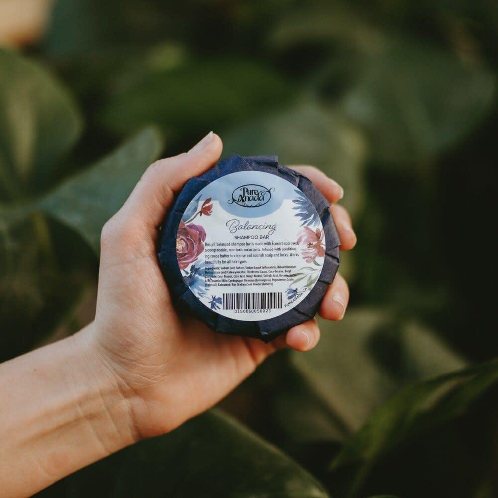 Shampoo Bar - Balancing (Patchouli & Lemongrass)-2