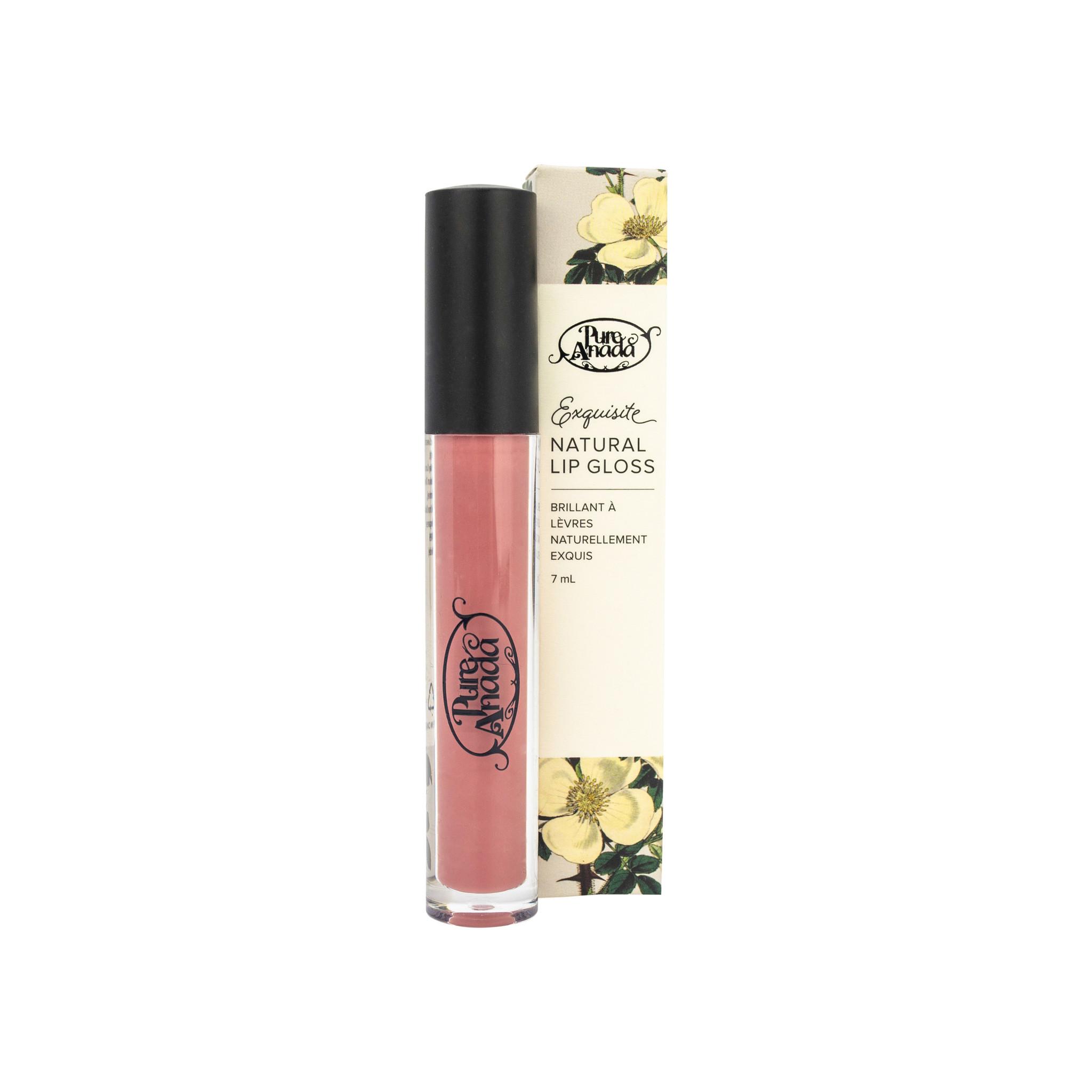 Exquisite Natural Lip Gloss - Plum (Matte)-1