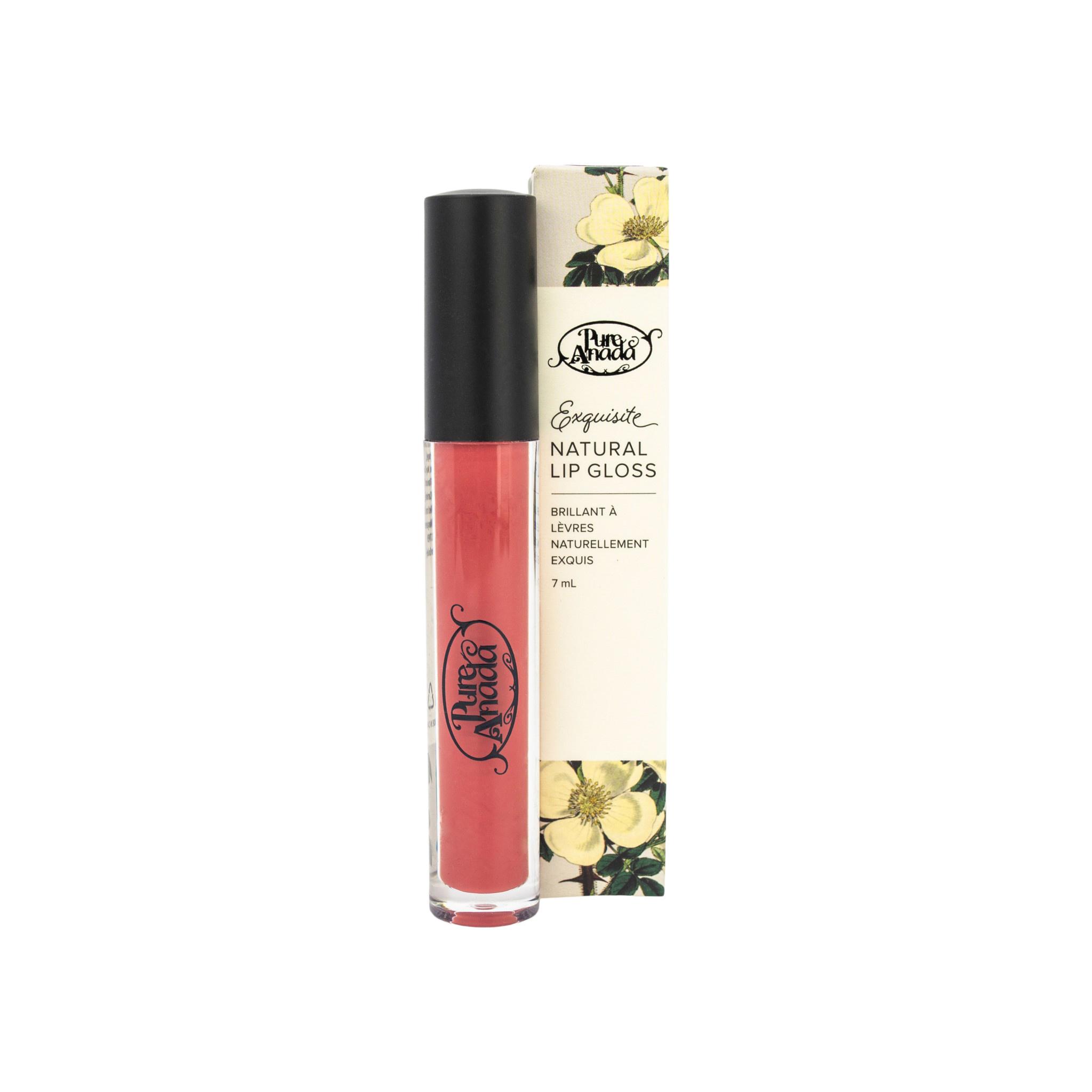 Exquisite Natural Lip Gloss - Pomegranate (Matte)-1