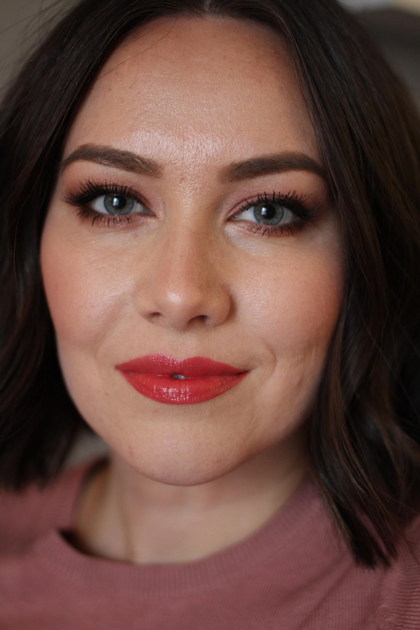 Exquisite Natural Lip Gloss - Pomegranate (Matte)-3