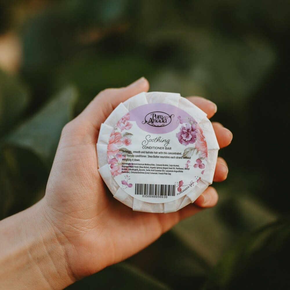 Conditioner Bar - Soothing (Lavender & Lime)-2