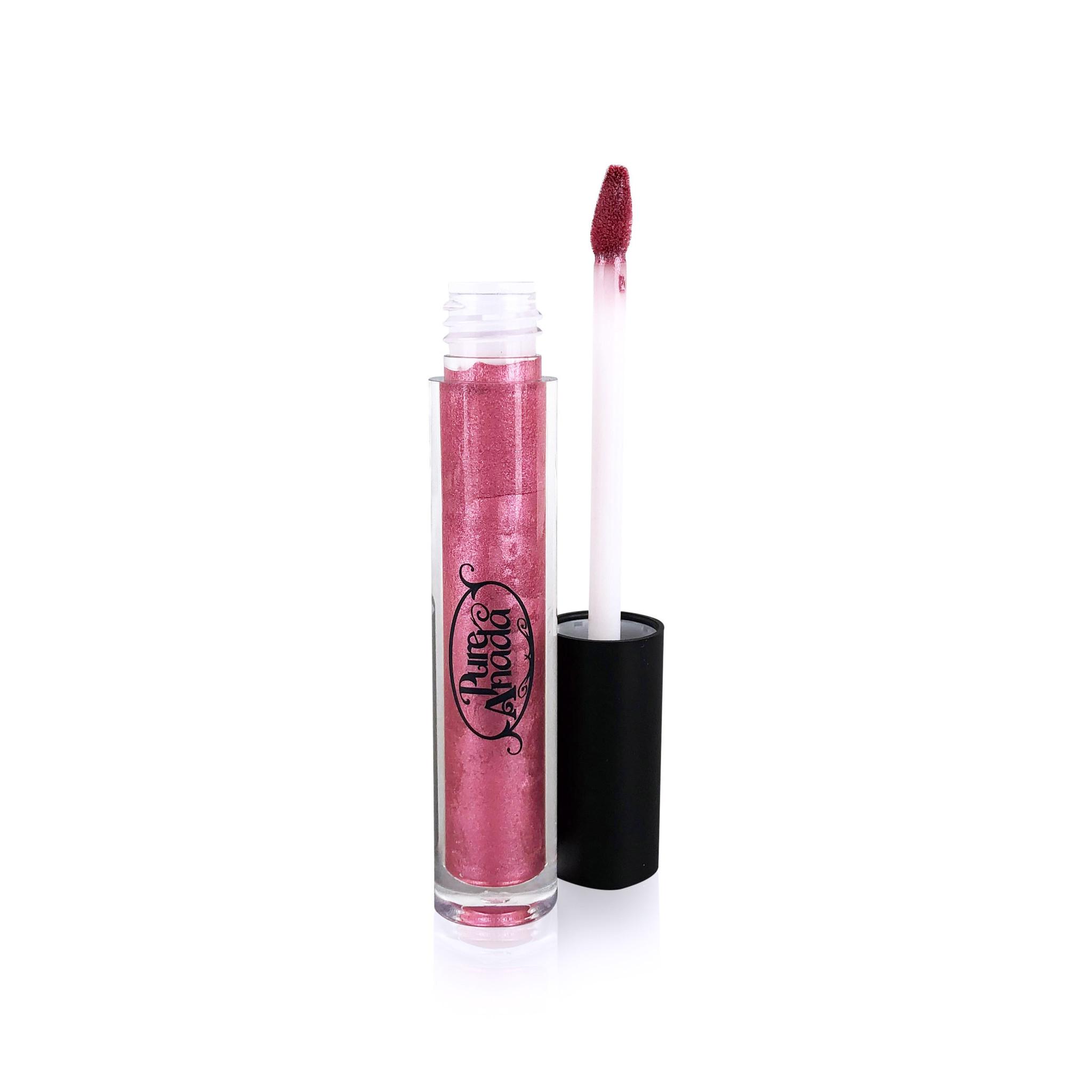 Glisten Mineral Lip Gloss - Pink Quartz-2