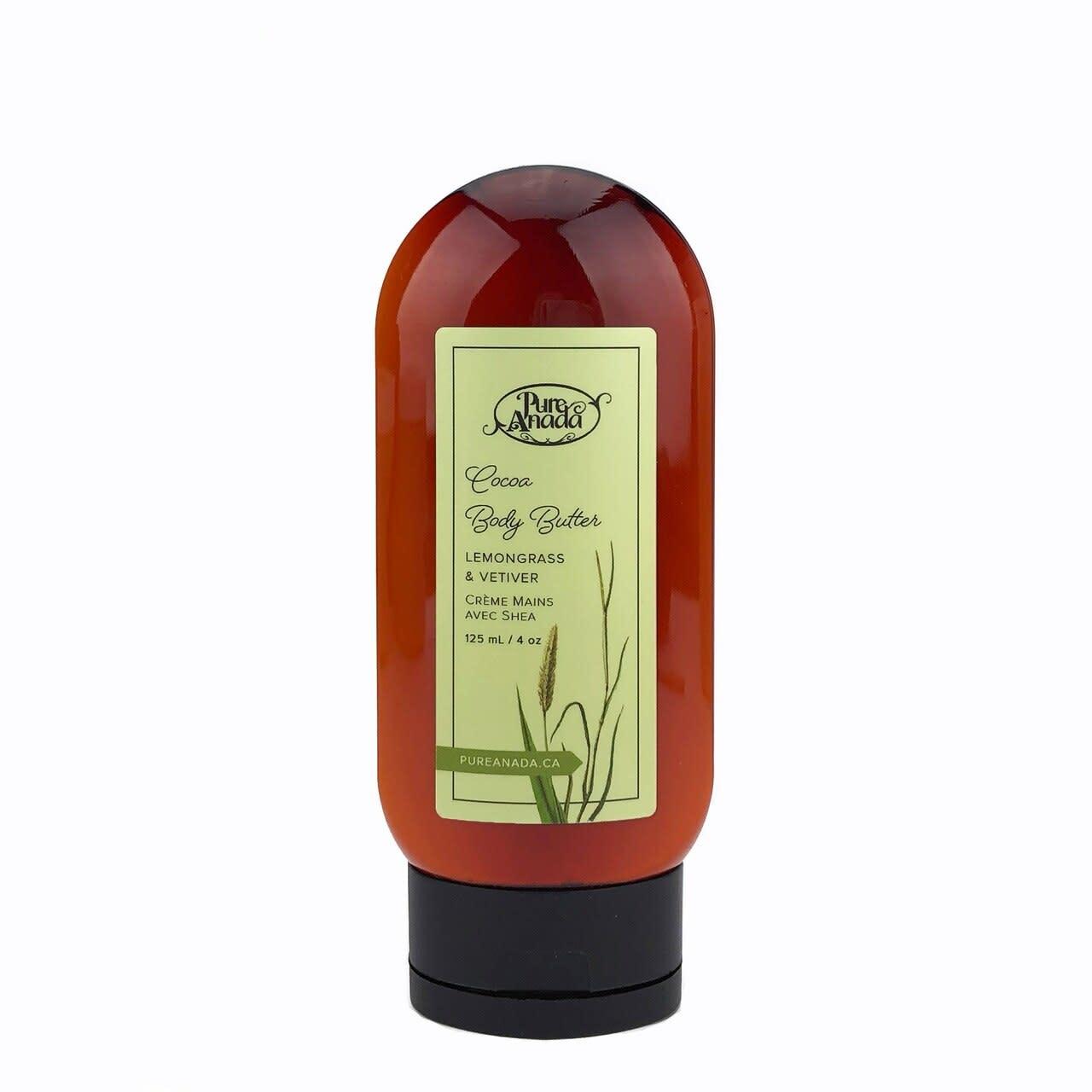 Cocoa Body Butter - Lemongrass & Vetiver-1
