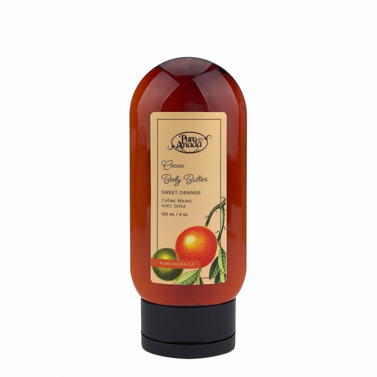 Cocoa Body Butter - Sweet Orange-1