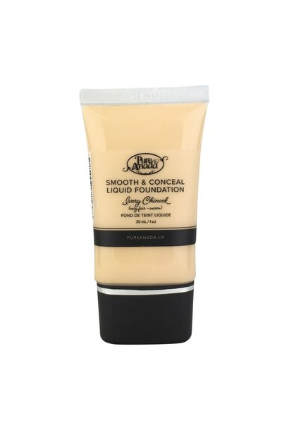 Liquid Foundation - Ivory Chinook: Very Fair (Warm)