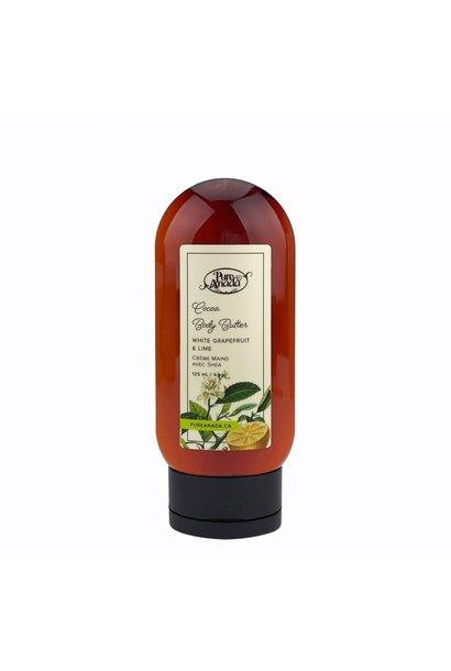 Cocoa Body Butter - White Grapefruit & Lime