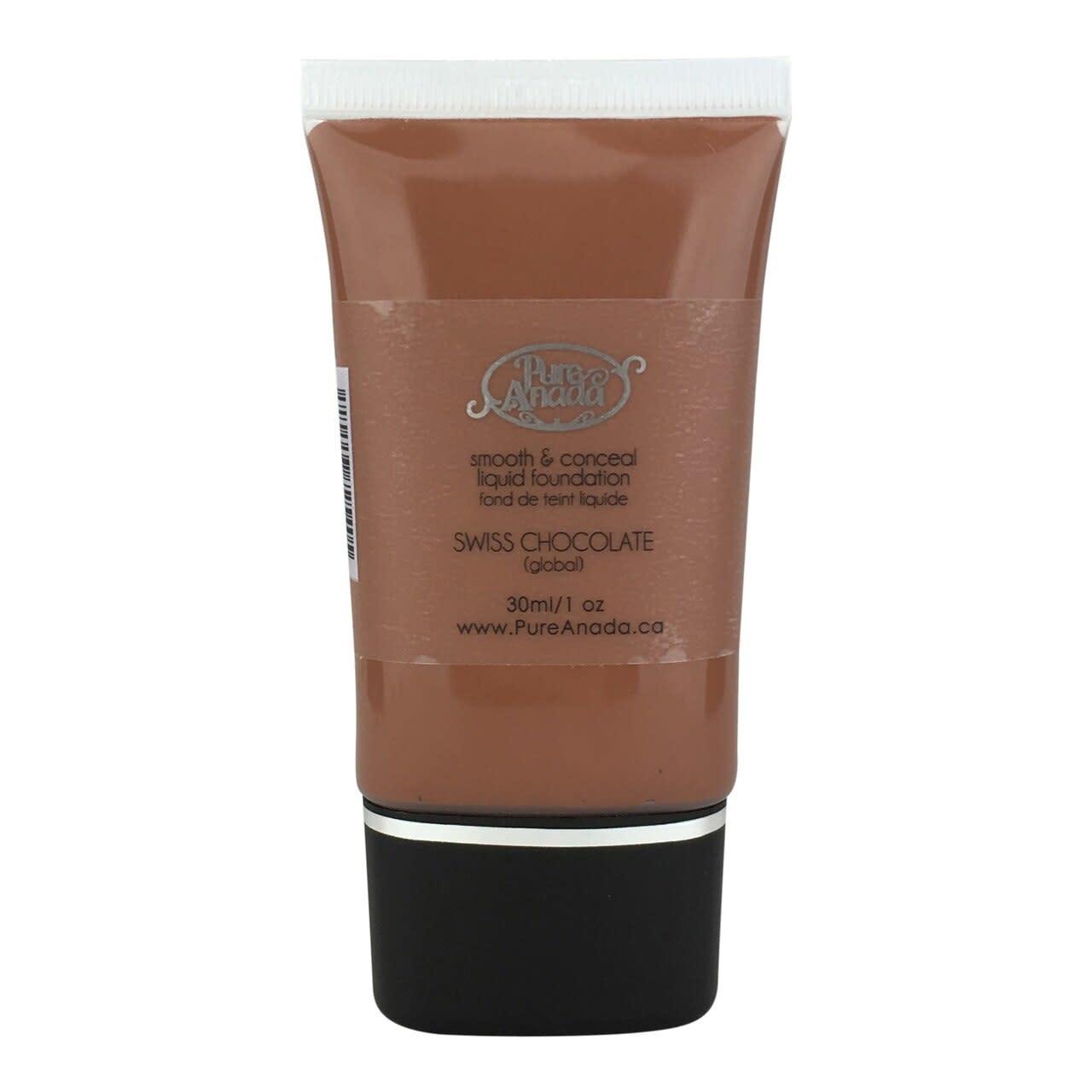 Liquid Foundation - Swiss Chocolate: Global (Neutral)-1