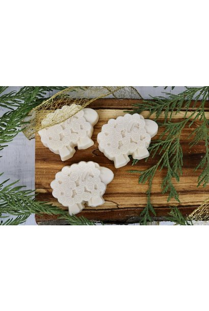 Sheep Soap Bar - Unscented (honey & oatmeal)