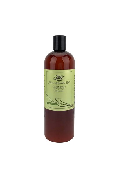 Shower & Bubble Gel - Lemongrass & Vetiver