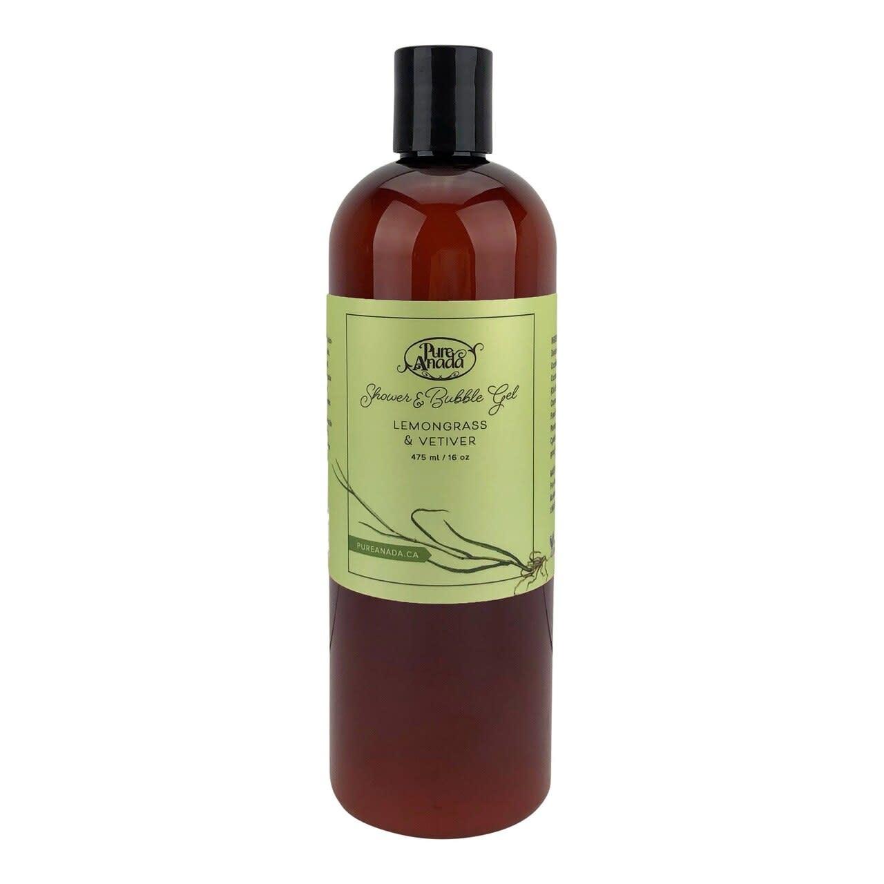 Shower & Bubble Gel - Lemongrass & Vetiver-1