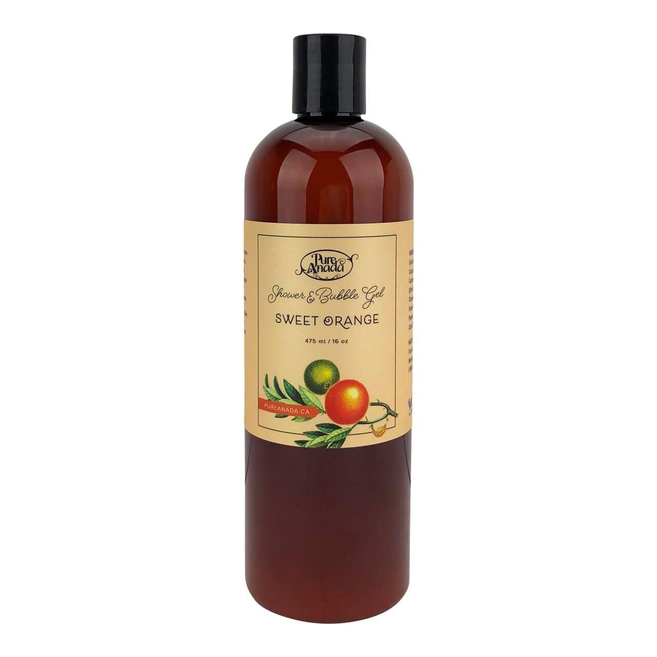 Shower & Bubble Gel - Sweet Orange-1