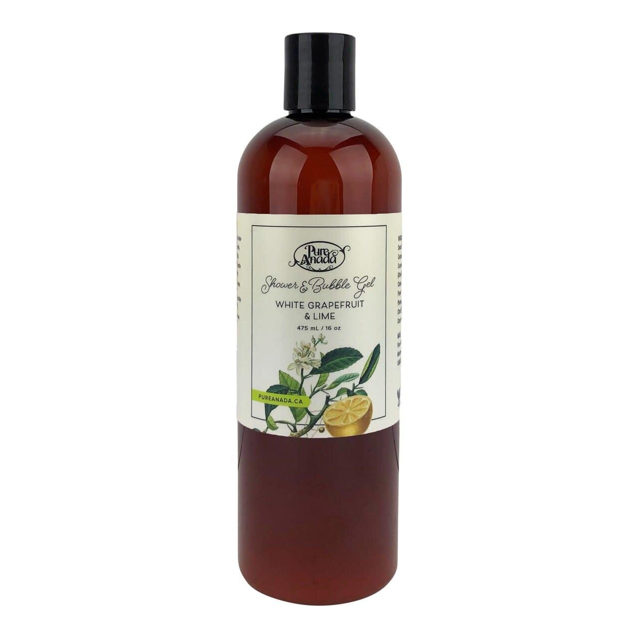 Shower & Bubble Gel - White Grapefruit & Lime-1