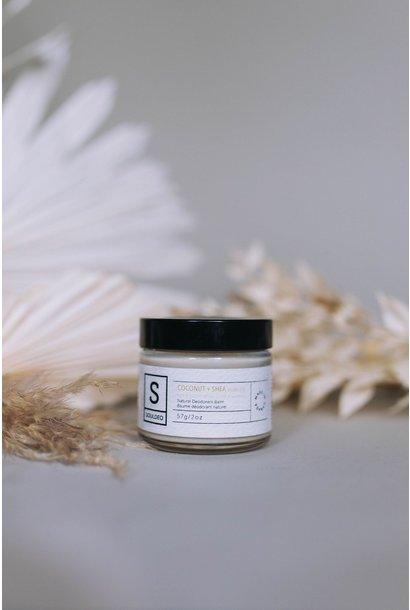 Deodorant Balm - Coconut & Shea (scentless)