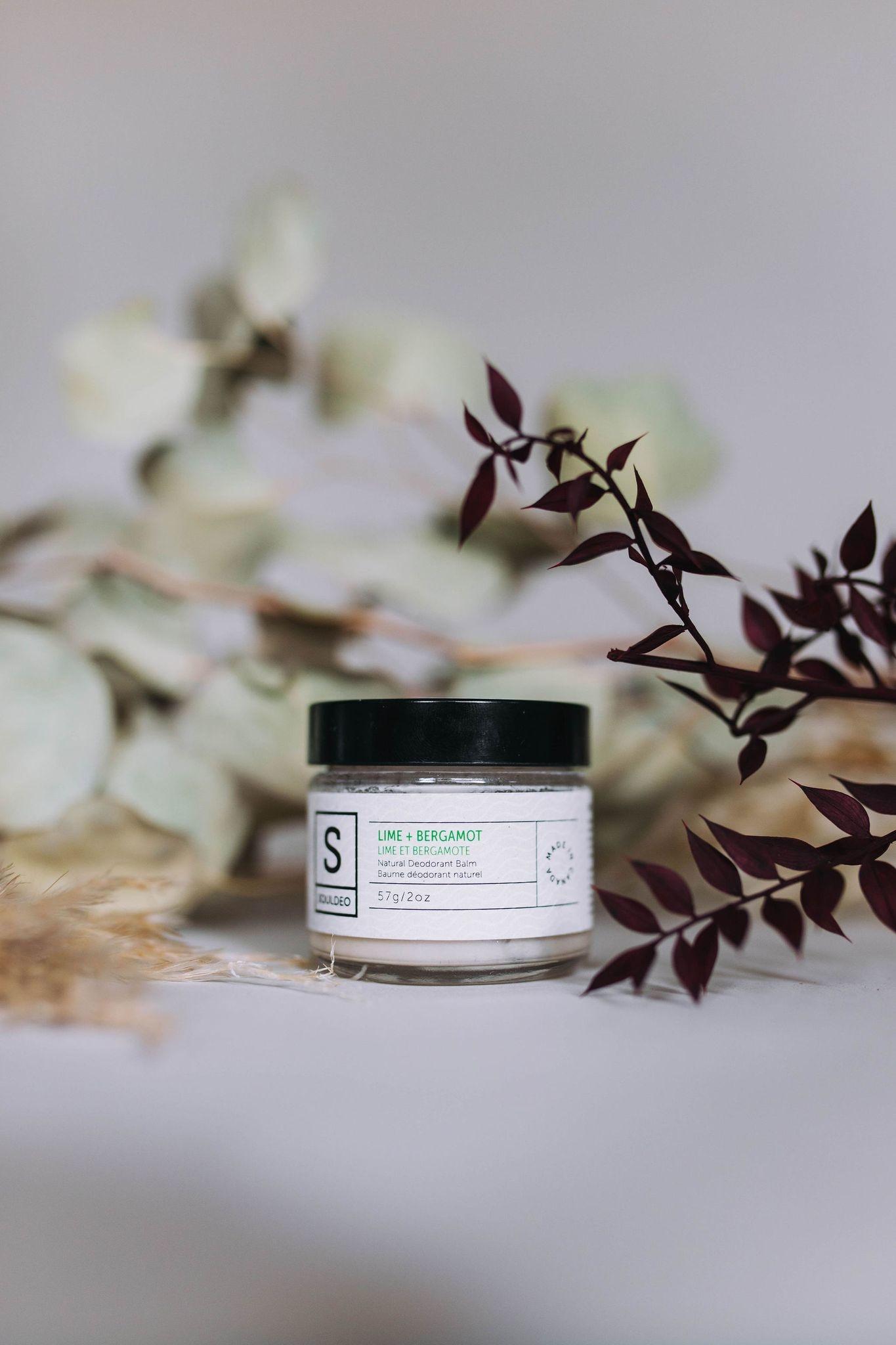 Deodorant Balm - Lime & Bergamot-1