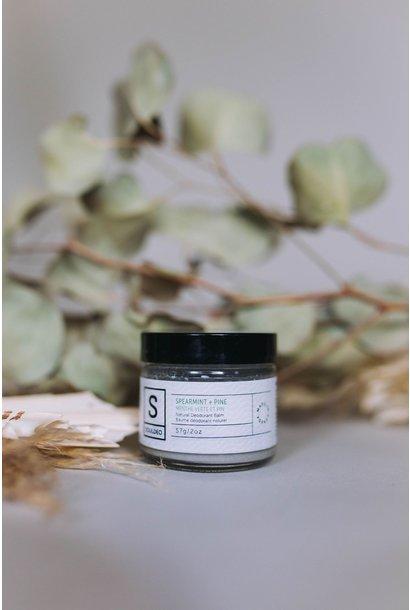 Deodorant Balm - Spearmint & Pine