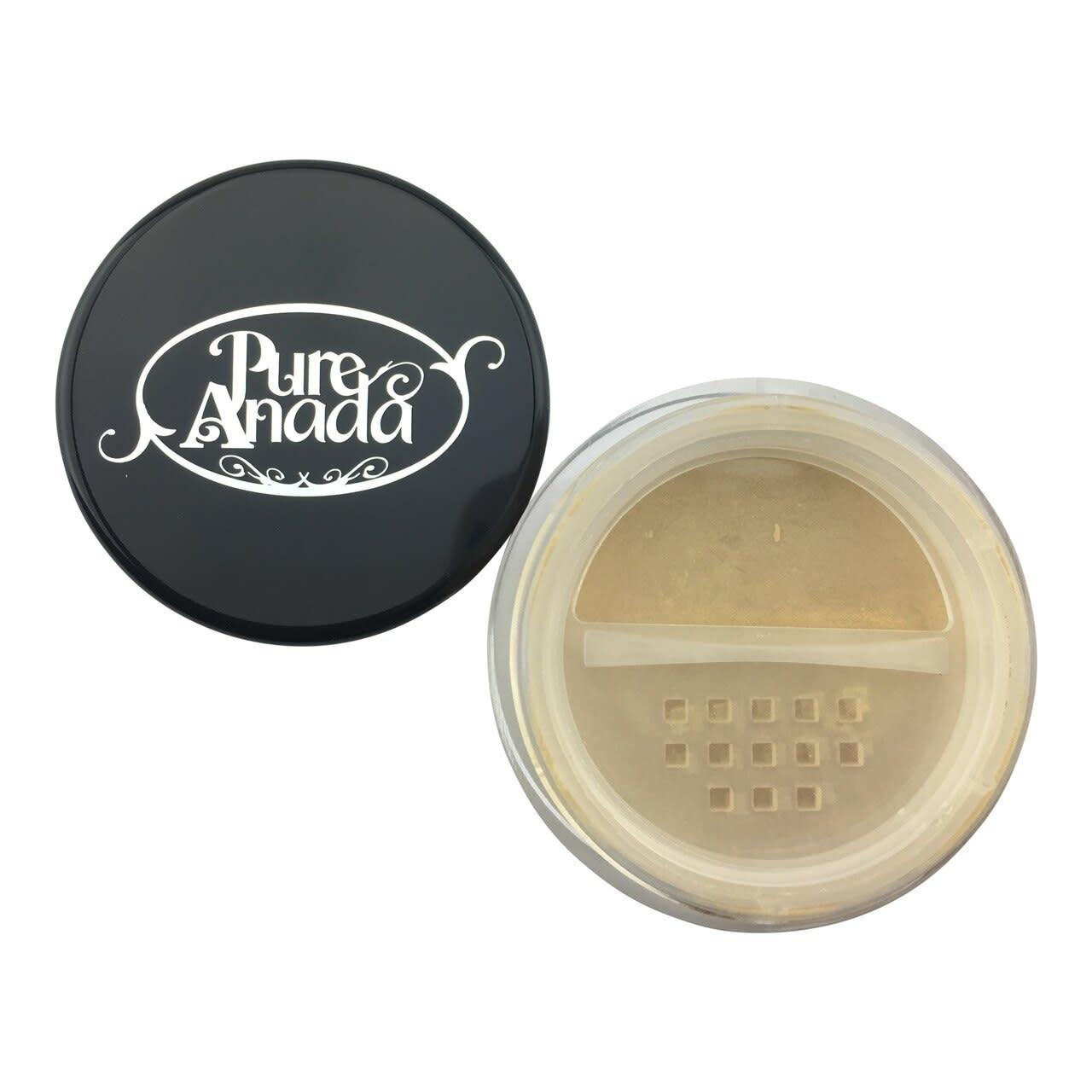 Loose Mineral Foundation - Amber Honey: Medium (Warm)-2