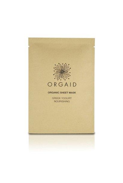 Organic Sheet Mask - Greek Yogurt & Nourishing