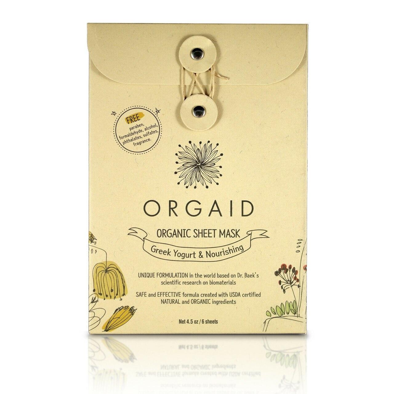 Greek Yogurt & Nourishing Organic Sheet Mask-3