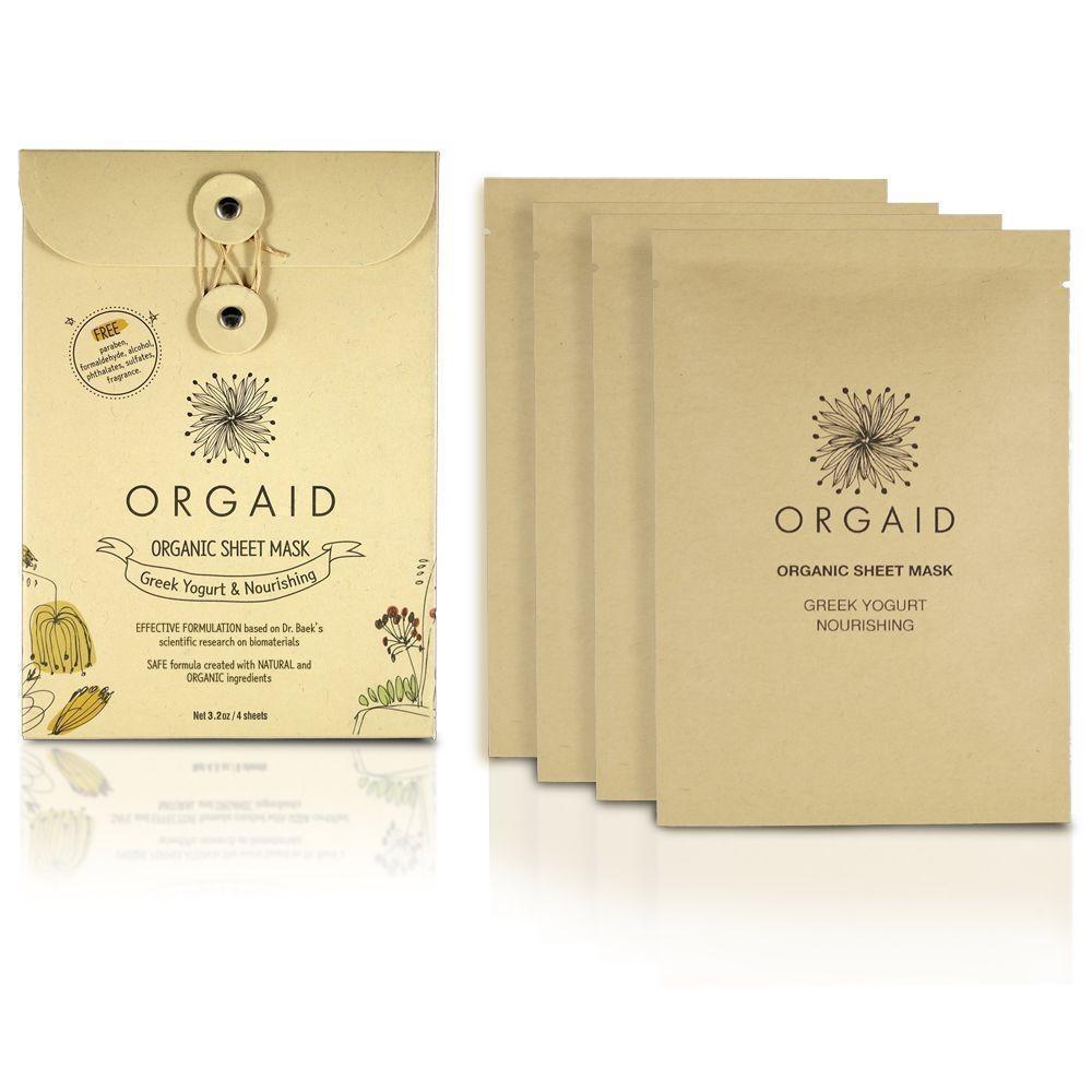 Greek Yogurt & Nourishing Organic Sheet Mask-4
