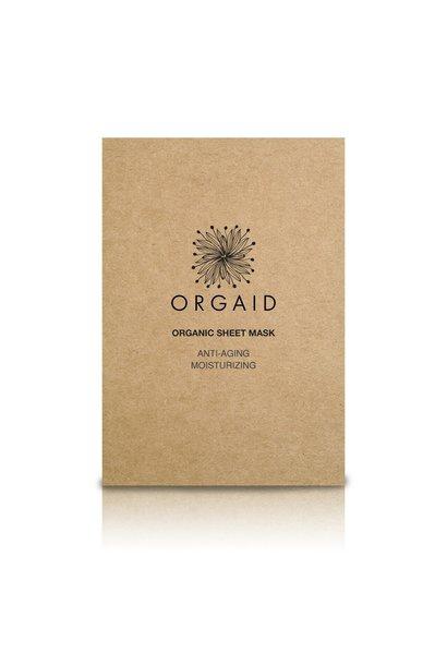 Organic Sheet Mask - Anti-Aging & Moisturizing