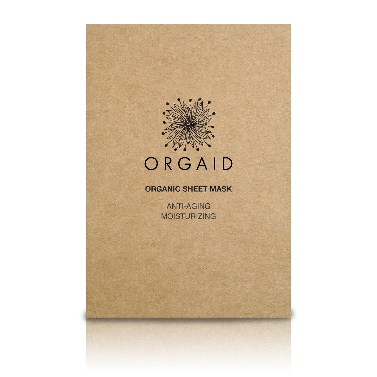 Anti-Aging & Moisturizing Organic Sheet Mask-1