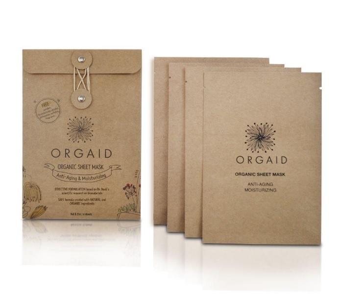 Anti-Aging & Moisturizing Organic Sheet Mask-3