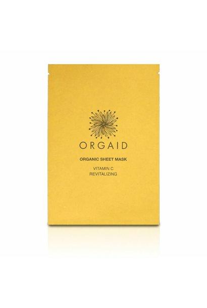 Organic Sheet Mask - Vitamin C & Revitalizing