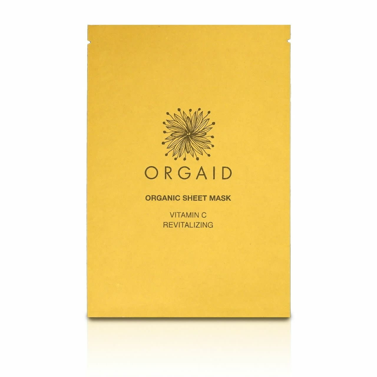 Vitamin C & Revitalizing Organic Sheet Mask-1