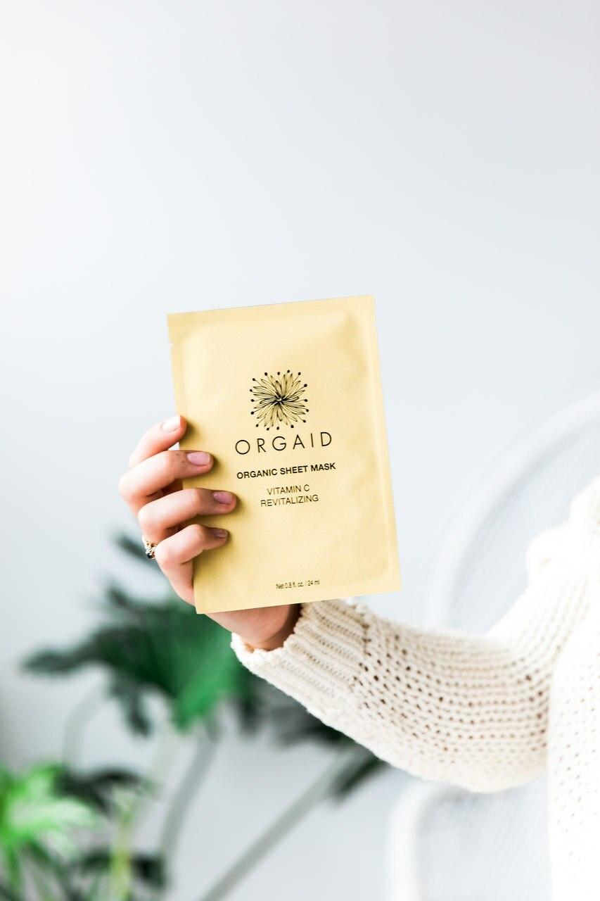 Vitamin C & Revitalizing Organic Sheet Mask-2