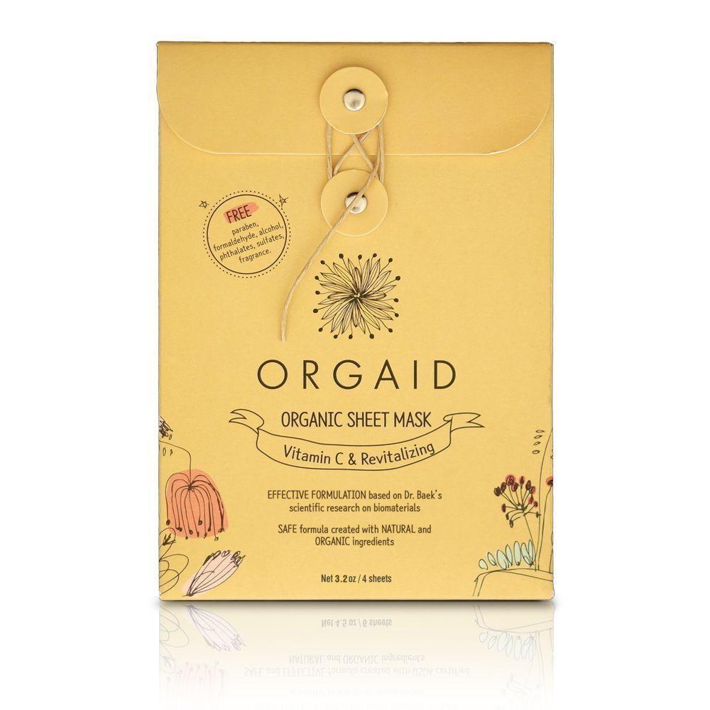 Vitamin C & Revitalizing Organic Sheet Mask-3